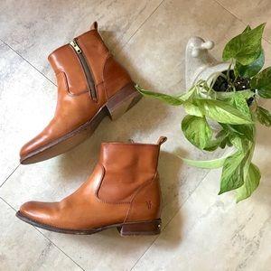 Frye Mens Sawyer Tan Boot